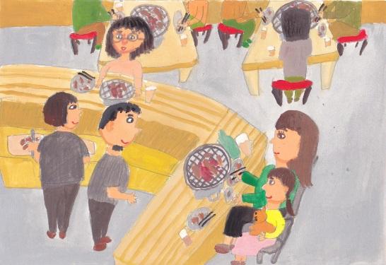 「焼き肉屋さん」_d0259392_2261689.jpg