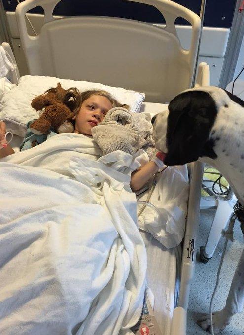 難病と闘う11歳の少女、ベラちゃんと犬のジョージ_b0007805_10255290.jpg