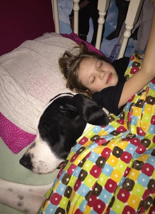 難病と闘う11歳の少女、ベラちゃんと犬のジョージ_b0007805_10291131.jpg