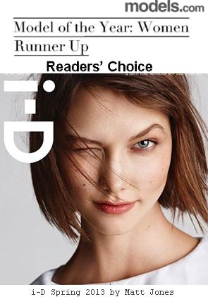 一流モデルのカーリー・クロス(Karlie Kloss)さん、NY市のIT業界の注目の人物に選ばれる?!_b0007805_73547.jpg