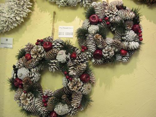 クリスマスリース_d0182409_1443117.jpg