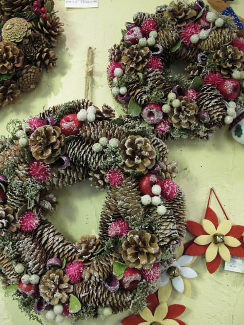 クリスマスリース_d0182409_14431395.jpg