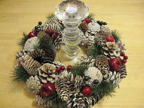 クリスマスリース_d0182409_16313021.jpg