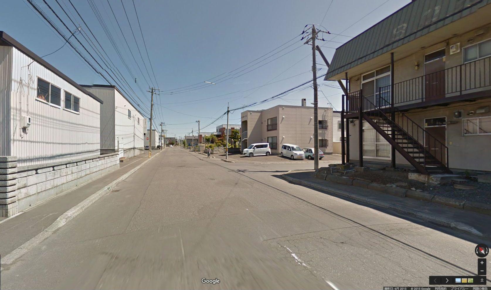 半年前に出会ったグーグル・ストリートビュー撮影車に撮られていた_c0025115_17444811.jpg