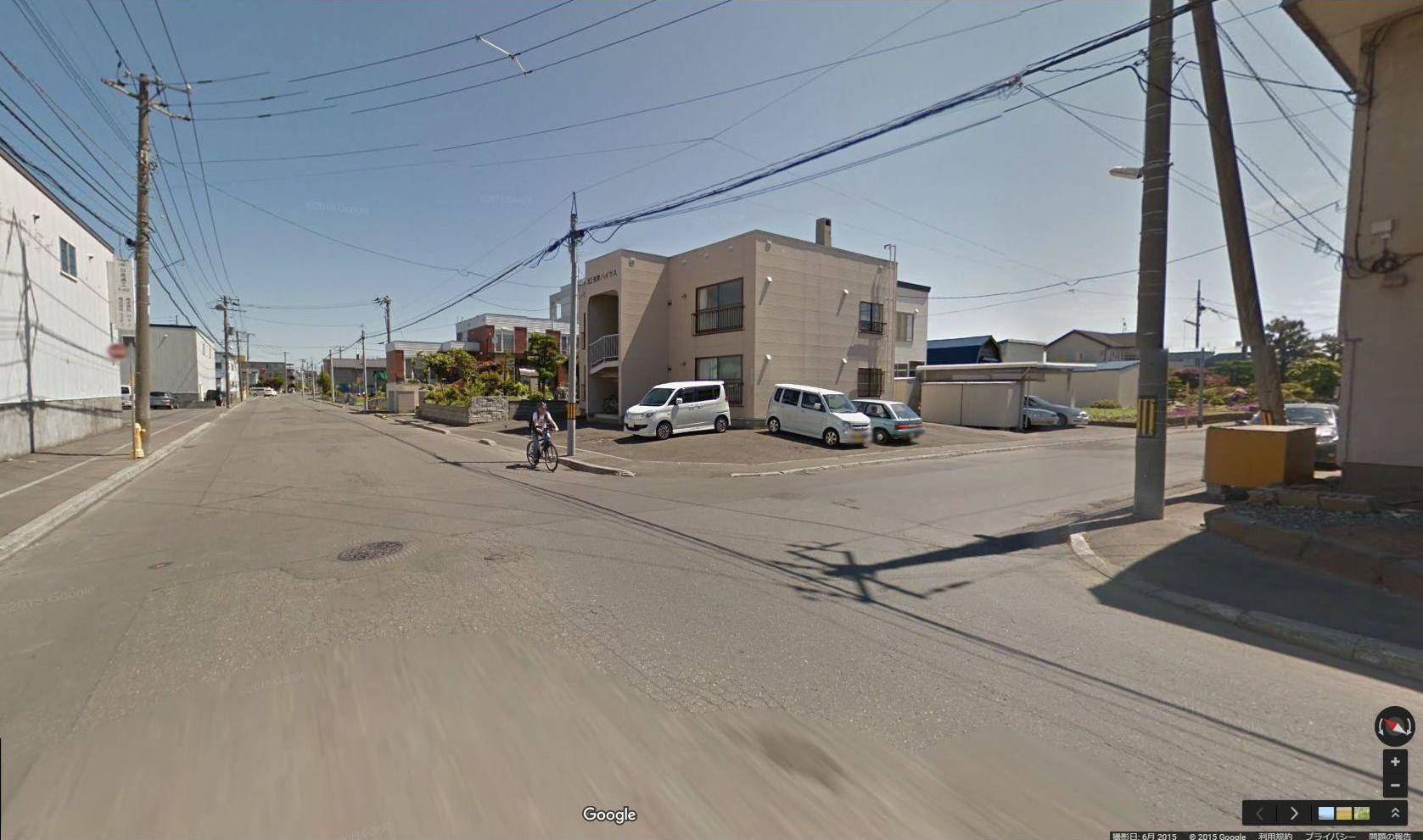 半年前に出会ったグーグル・ストリートビュー撮影車に撮られていた_c0025115_17445384.jpg