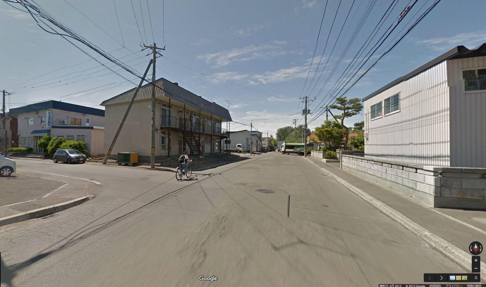 半年前に出会ったグーグル・ストリートビュー撮影車に撮られていた_c0025115_17445653.jpg