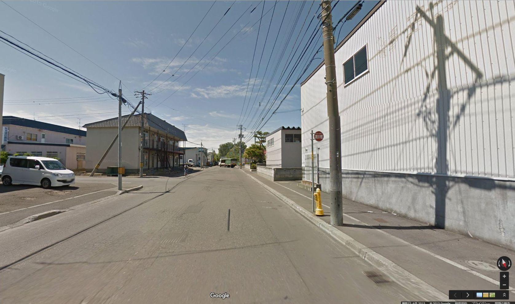 半年前に出会ったグーグル・ストリートビュー撮影車に撮られていた_c0025115_17450027.jpg