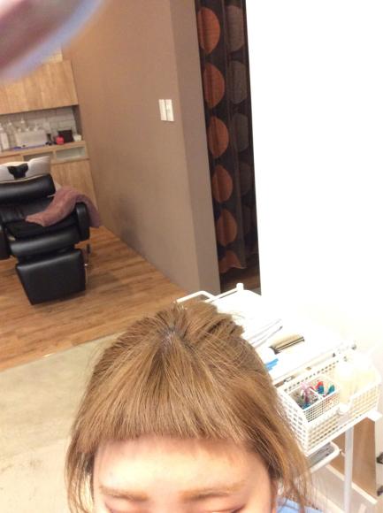 前髪パーマ     ポイントパーマ_e0062921_10332260.jpg