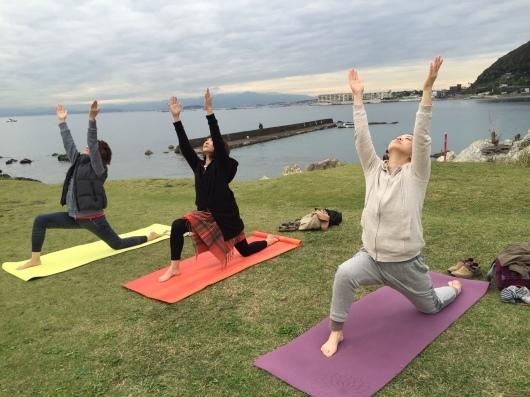 Beach yogaはやっぱり気持ちがイイですね♩_a0267845_19483716.jpeg