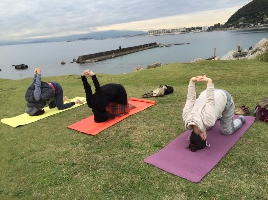 Beach yogaはやっぱり気持ちがイイですね♩_a0267845_19485063.jpeg