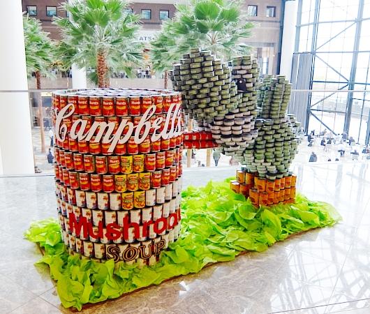 缶詰アートのカンストラクション(Canstruction)2015_b0007805_2331299.jpg
