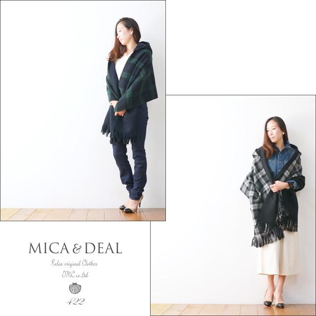 MICA&DEAL [マイカアンドディール] REVERSIBLE FLINGE STOLE [M15D140]  LADY\'S_f0051306_17413549.jpg