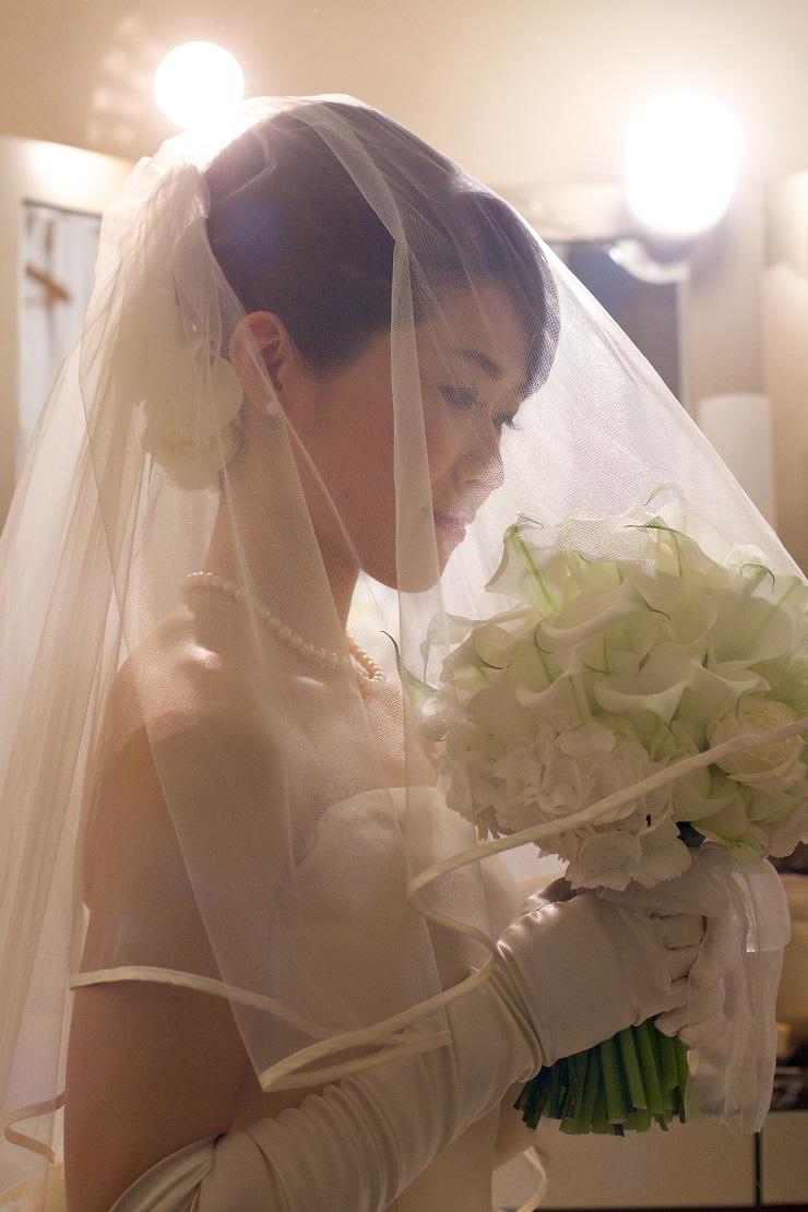 新郎新婦様からのメール クラッチブーケ ザ クラシカ ベイリゾートの花嫁様へ _a0042928_2125527.jpg