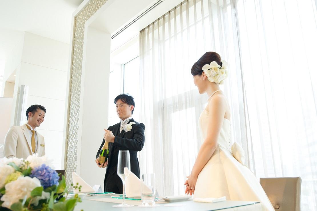 新郎新婦様からのメール クラッチブーケ ザ クラシカ ベイリゾートの花嫁様へ _a0042928_2152195.jpg