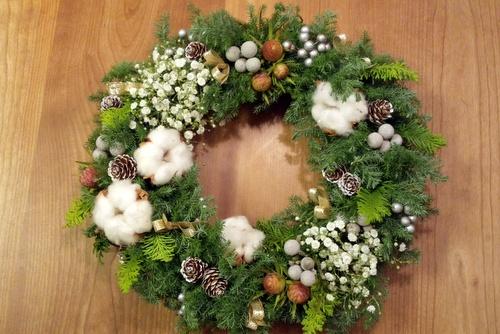 クリスマスリース_c0038434_9524320.jpg