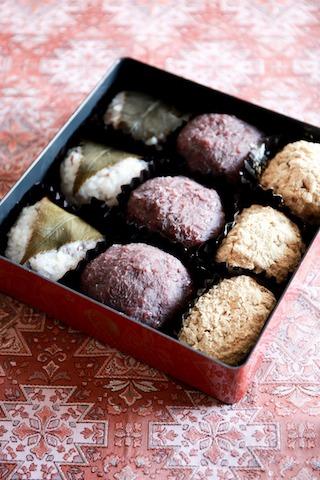 ロックナッツチョコクッキー/雑穀おはぎ3種_d0034447_1303394.jpg