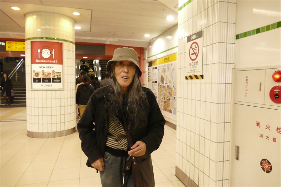 ギリヤーク尼ヶ崎さん、次回は埼玉川越公演、12/6です_d0179447_2120979.jpg