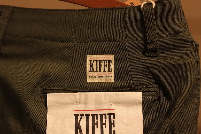 """KIFFE 間違いないパンツ \""""T/C STRETCH ANKLE TAPERED\"""" ご紹介_f0191324_8494891.jpg"""