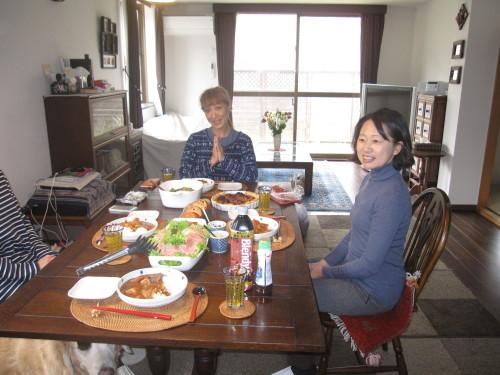 ご近所女子会でakikoさんの送別会_e0350927_09145246.jpg