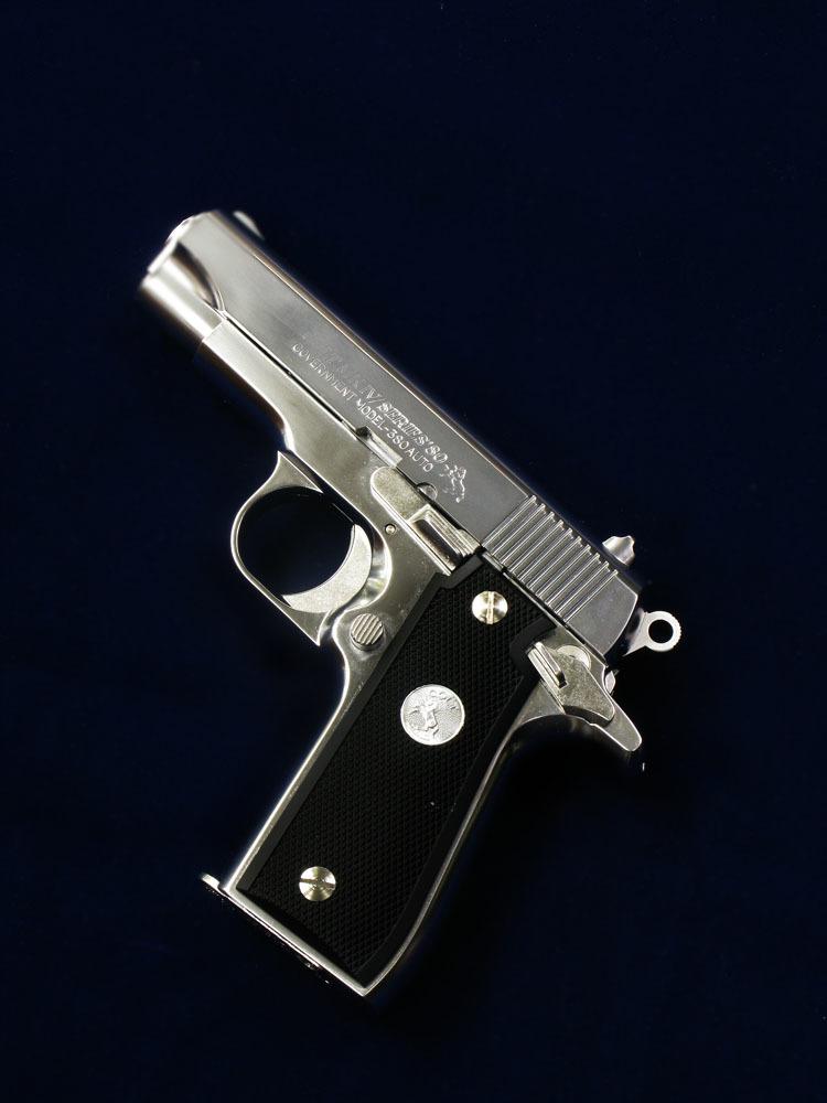 タナカ Colt .380オート ステンレスモデル_f0131995_13584346.jpg