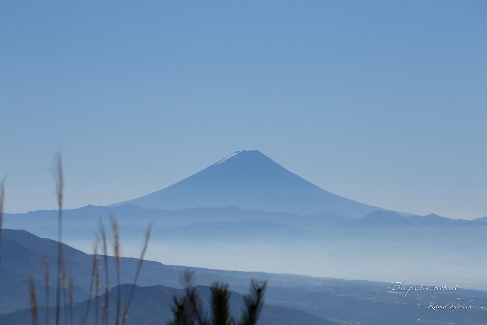 11/6 天女平から富士の絶景〜原村へ_c0137403_16183049.jpg