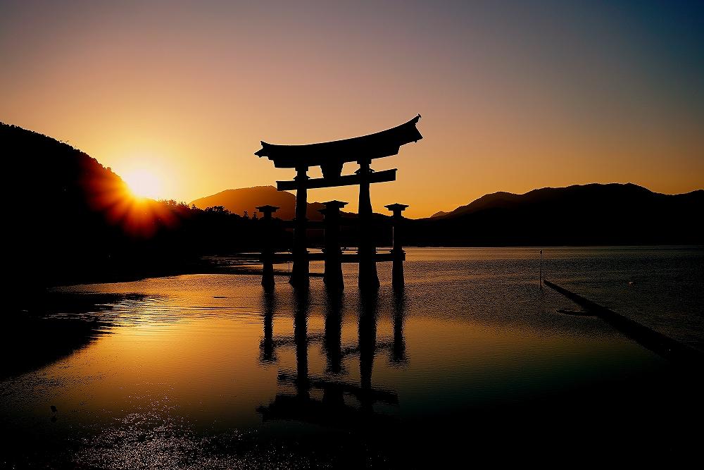 @厳島神社 大鳥居_c0247313_1325615.jpg