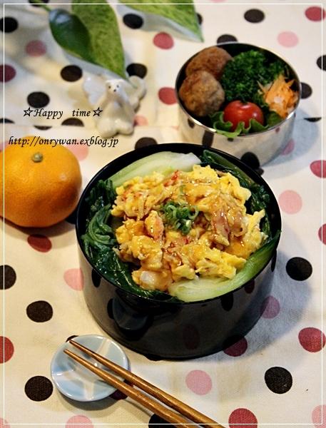 天津飯風丼弁当と今週の常備菜作り♪_f0348032_17571527.jpg