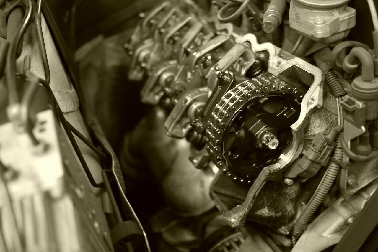 w211 エンジンマウント ミッションマウント タペットカバーパッキン 交換_d0171835_15165262.jpg