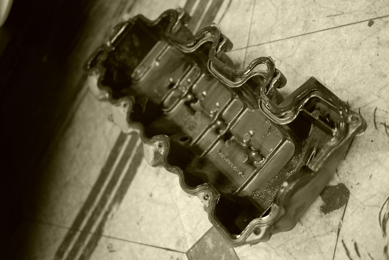 w211 エンジンマウント ミッションマウント タペットカバーパッキン 交換_d0171835_15172228.jpg