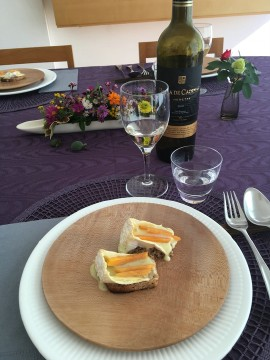 2015年 料理教室 きのこ尽くしの温サラダ 鰆と蕪のブルーテ_e0134337_15351010.jpg