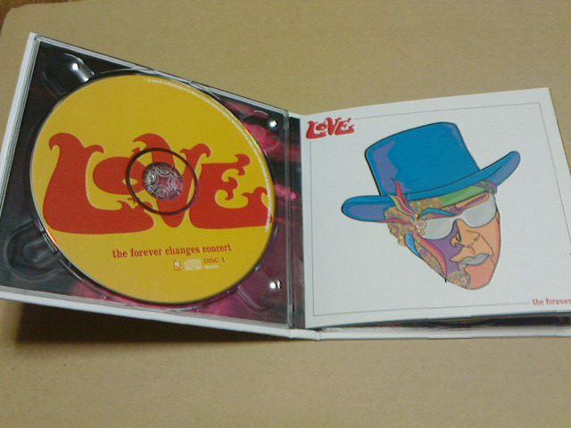 昨日到着CD 〜 the forever changes concert  / LOVE_c0104445_177076.jpg