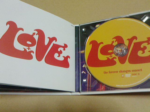 昨日到着CD 〜 the forever changes concert  / LOVE_c0104445_1772364.jpg