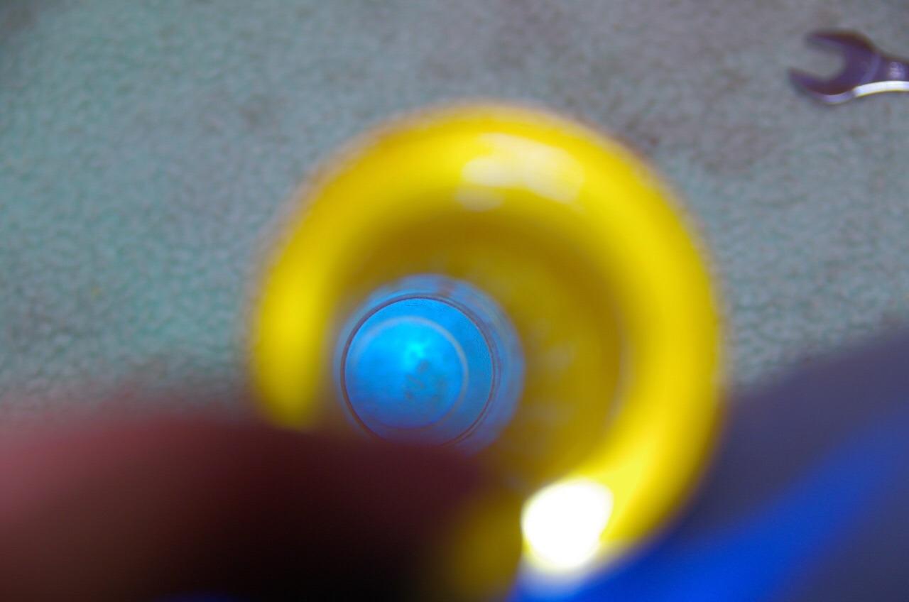【DB7】オーリンズフォークのスライドメタル取り外し_e0159646_1639280.jpg