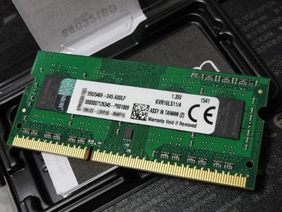 SVS15129CJBのメモリ増設:Kingston KVR16LS11/4_b0006870_9121394.jpg