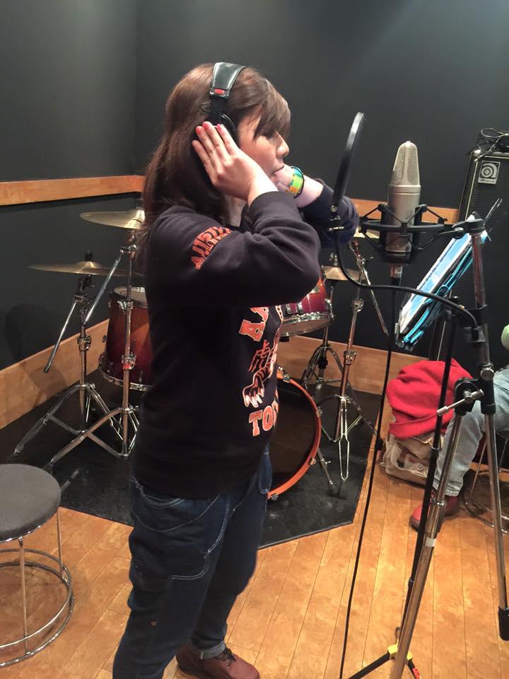 【イクメン戦士ネリマックス】の主題歌レコーディング!んの巻_f0236990_8253594.jpg