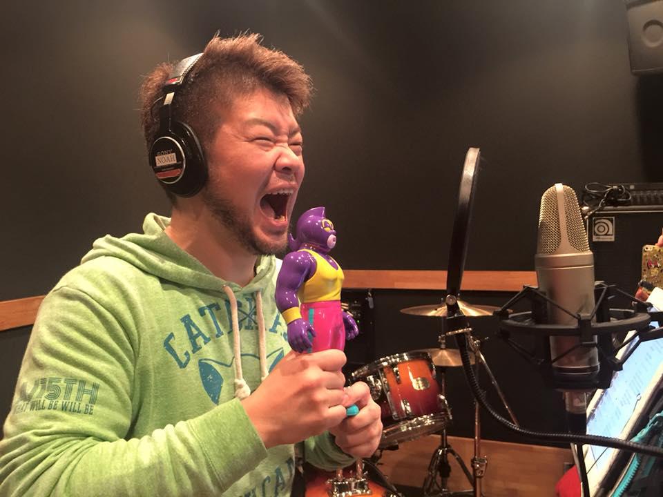 【イクメン戦士ネリマックス】の主題歌レコーディング!んの巻_f0236990_8255219.jpg