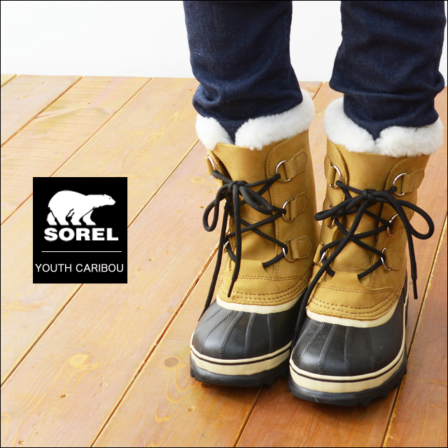 SOREL [ソレル] YOUTH CARIBOU [カリブー] [LY1000] KID\'S / LADY\'S_f0051306_17433712.jpg