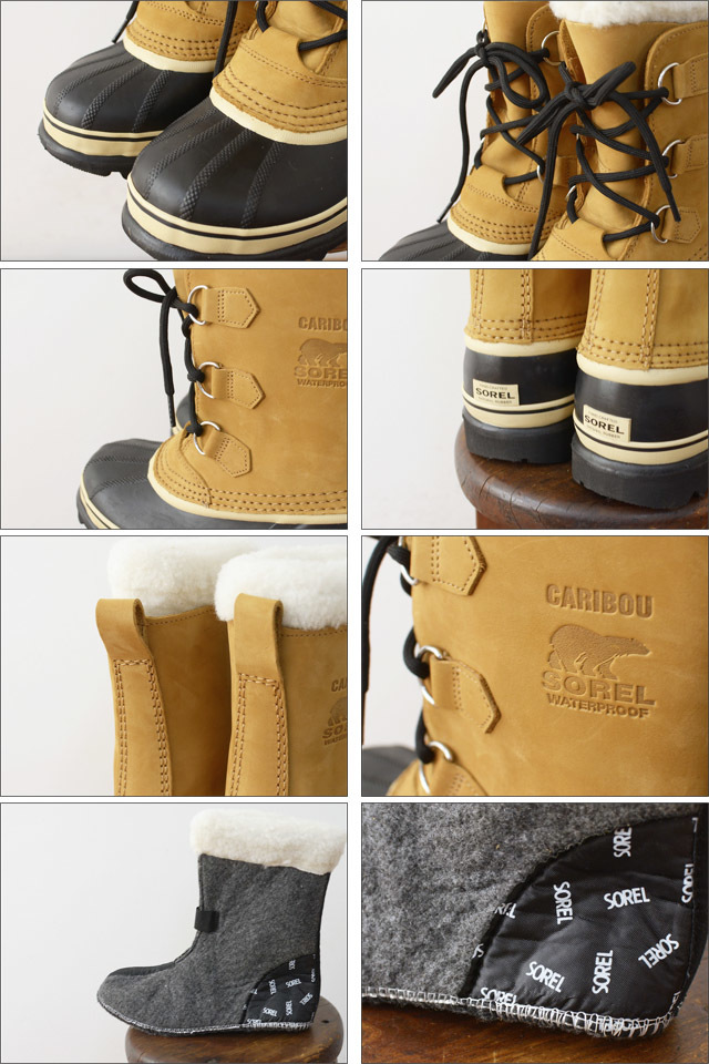 SOREL [ソレル] YOUTH CARIBOU [カリブー] [LY1000] KID\'S / LADY\'S_f0051306_17433754.jpg