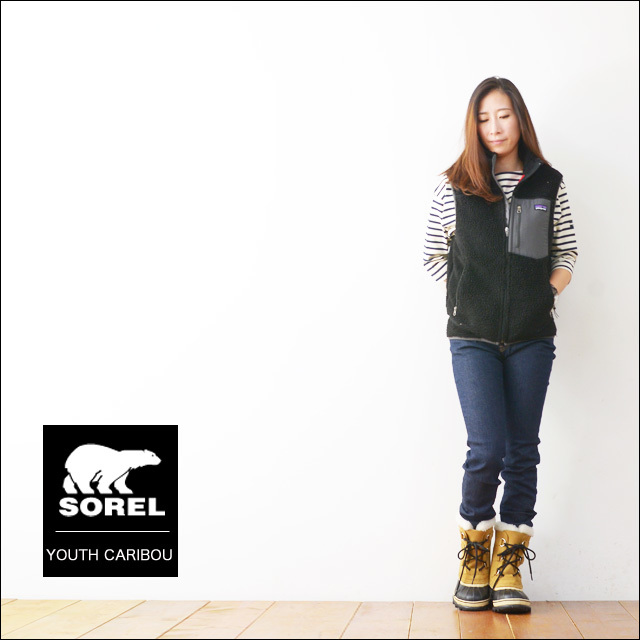 SOREL [ソレル] YOUTH CARIBOU [カリブー] [LY1000] KID\'S / LADY\'S_f0051306_17433762.jpg