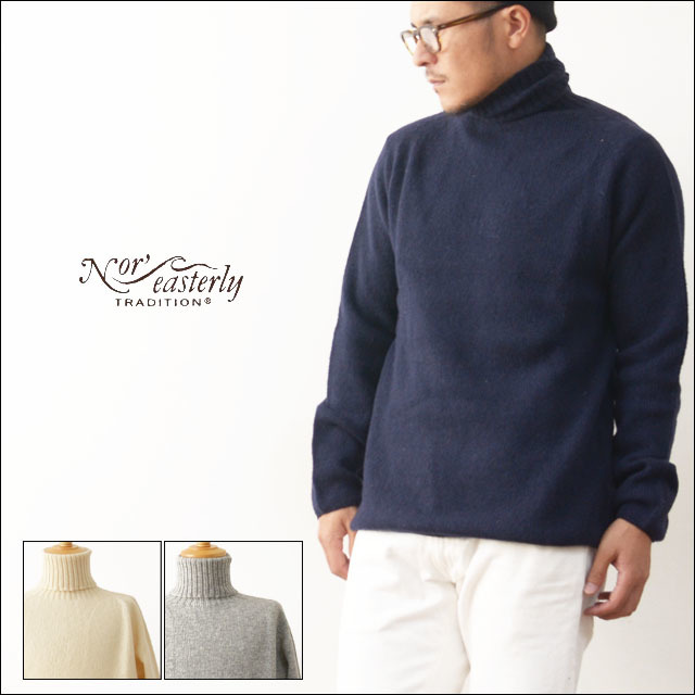 Nor\' easterly [ノアイースタンリー/ノーイーストリー] L/S TURTLE NECK  [15-010] MEN\'S_f0051306_17473543.jpg