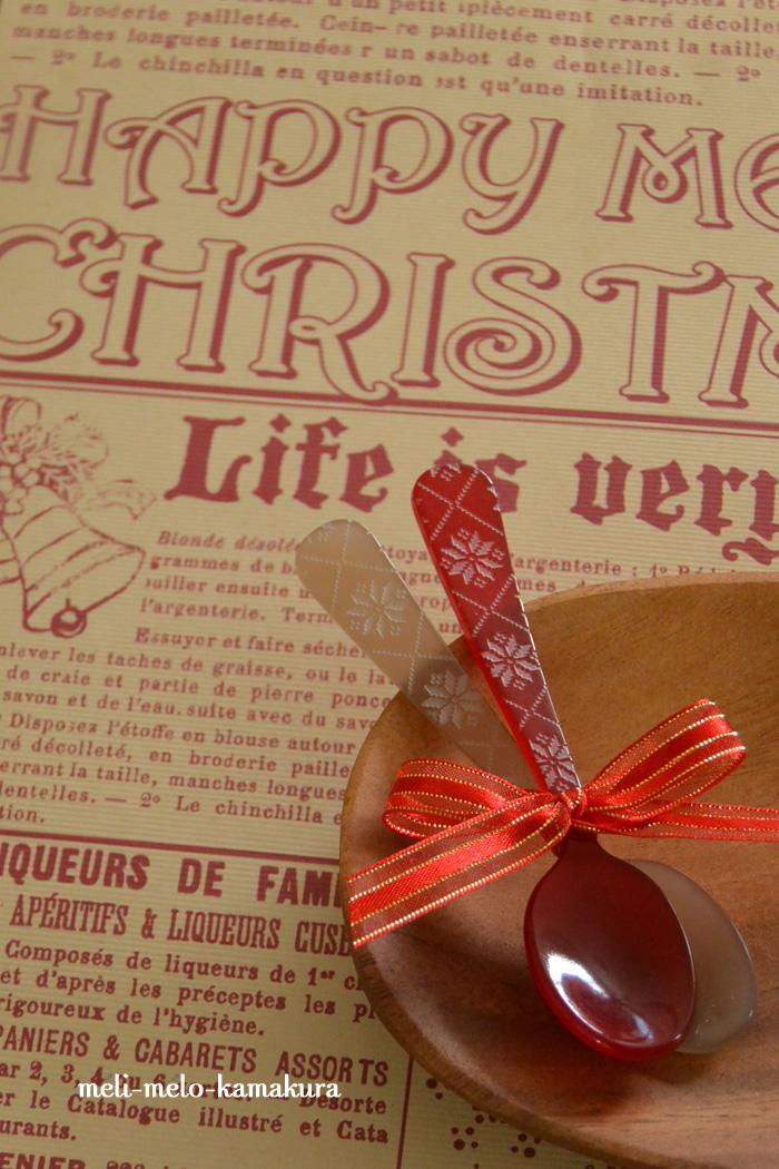 ◆とっても可愛い♡『SABRE』の2015ノエルスプーンを入荷しました!_f0251032_221988.jpg