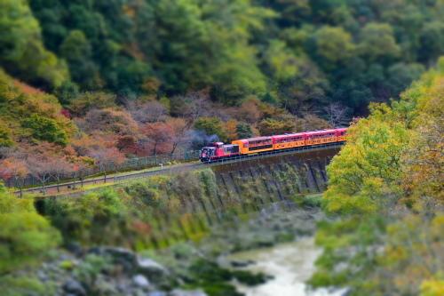 嵯峨野鉄道トロッコ列車_d0285540_13480998.jpg