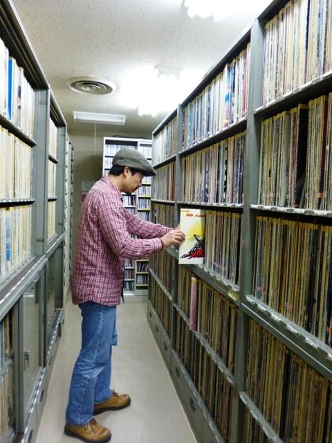 京の寄り道 『KBS京都ラジオ・レコ室からこんにちは』_e0230141_11485493.jpg
