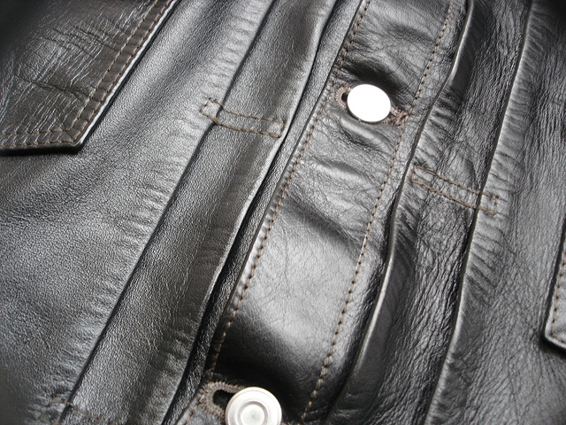 """NEW : HIGH LARGE LEATHERS [HORSEHIDE JACKET] """"Oklahoma City""""、""""Still Water"""" !!_a0132147_18101458.jpg"""