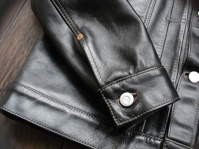 """NEW : HIGH LARGE LEATHERS [HORSEHIDE JACKET] """"Oklahoma City""""、""""Still Water"""" !!_a0132147_18102259.jpg"""