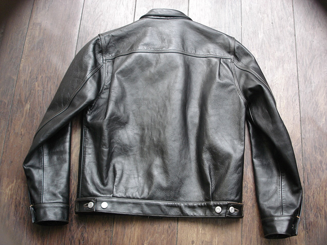 """NEW : HIGH LARGE LEATHERS [HORSEHIDE JACKET] """"Oklahoma City""""、""""Still Water"""" !!_a0132147_18112383.jpg"""