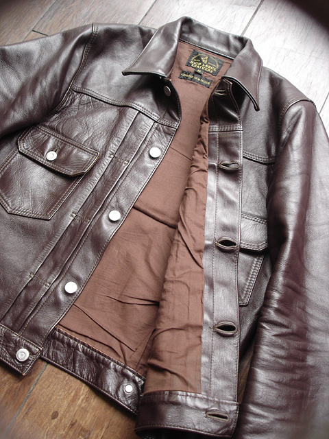 """NEW : HIGH LARGE LEATHERS [HORSEHIDE JACKET] """"Oklahoma City""""、""""Still Water"""" !!_a0132147_1884714.jpg"""