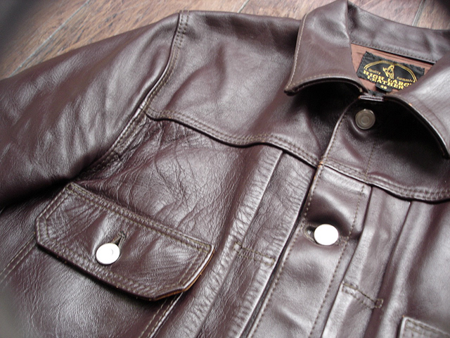 """NEW : HIGH LARGE LEATHERS [HORSEHIDE JACKET] """"Oklahoma City""""、""""Still Water"""" !!_a0132147_1885325.jpg"""