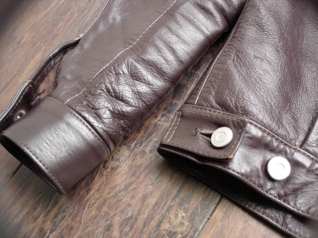 """NEW : HIGH LARGE LEATHERS [HORSEHIDE JACKET] """"Oklahoma City""""、""""Still Water"""" !!_a0132147_1885935.jpg"""
