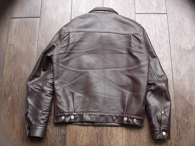 """NEW : HIGH LARGE LEATHERS [HORSEHIDE JACKET] """"Oklahoma City""""、""""Still Water"""" !!_a0132147_1892010.jpg"""